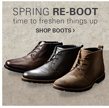 SPRING RE-BOOT | TIME TO FRESHEN THINGS UP
