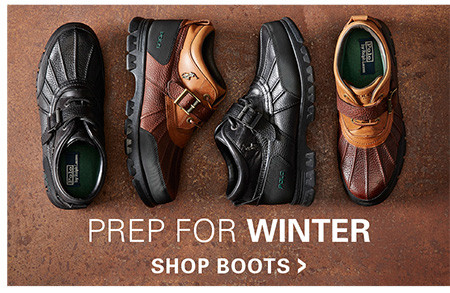 BOOTS | PREP FOR WINTER
