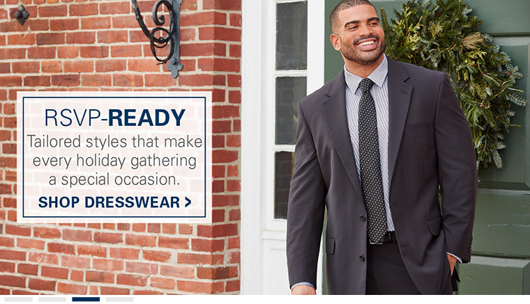 RSVP-Ready. Tailored styles that make every
