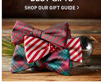 THE SEASON'S BEST GIFTS | SHOP OUR GIFT GUIDE