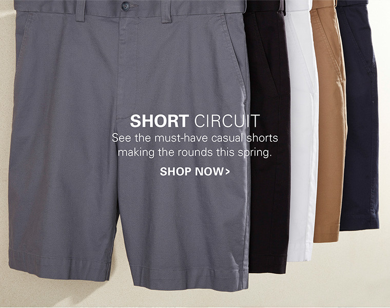 SHORT CIRCUIT | SEE THE MUST-HAVE CASUAL SHORTS MAKING THE ROUNDS THIS SPRING