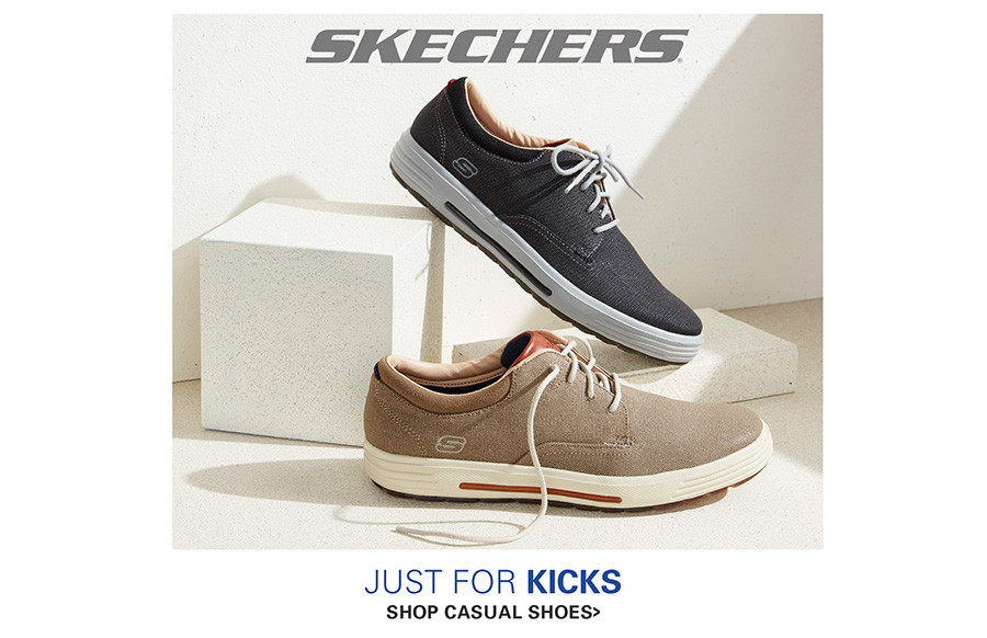 SKECHERS | JUST FOR KICKS | CASUAL SHOES