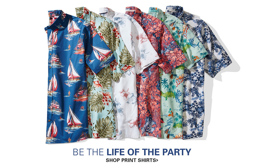 BE THE LIFE OF THE PARTY | PRINTED SHIRTS