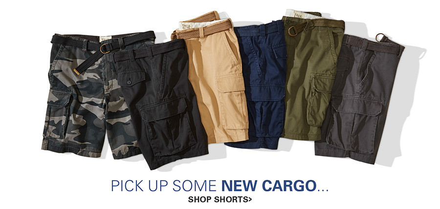 PICK UP SOME NEW CARGO | SHORTS