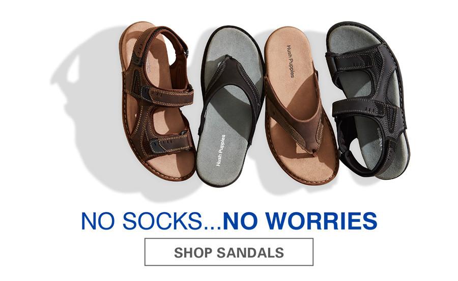 NO SOCKS, NO WORRIES | SHOP SANDALS