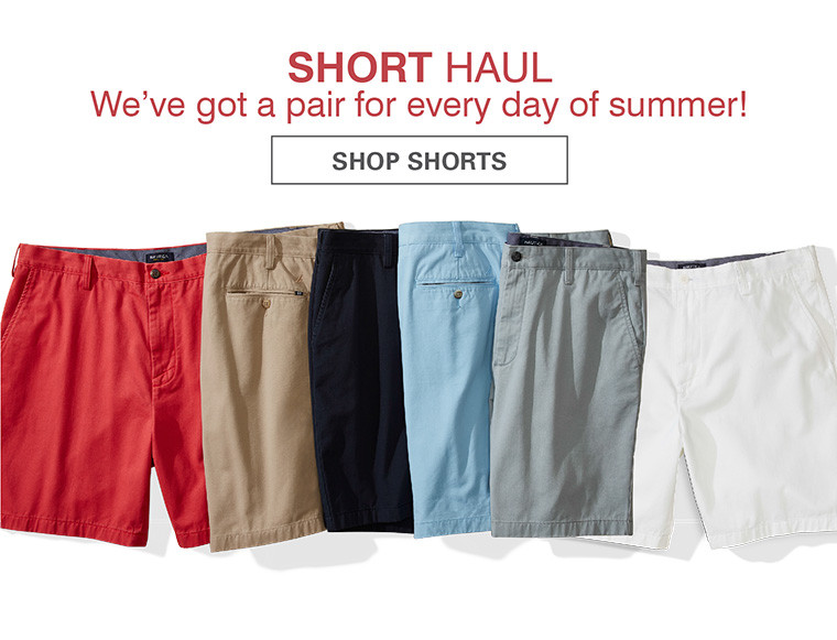 SHORT HAUL | WE'VE GOT A PAIR FOR EVERY DAY OF SUMMER | SHOP SHORTS