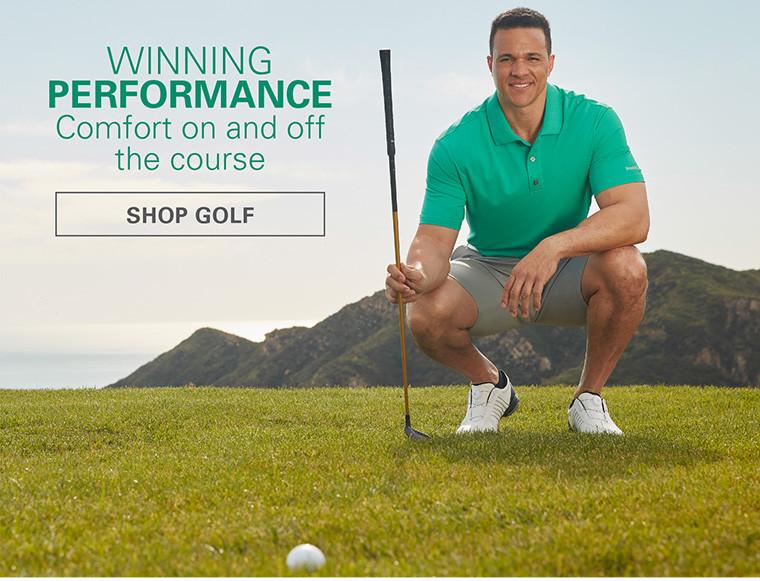 WINNING PERFORMANCE | SHOP GOLF