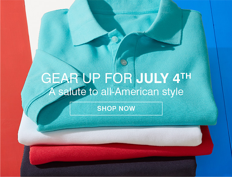 GEAR UP FOR JULY 4TH | A SALUTE TO ALL-AMERICAN STYLE