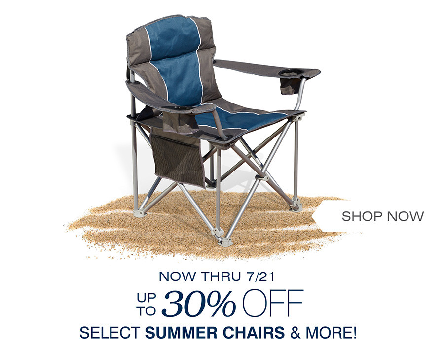 OUR BEST PORTABLE CHAIRS UP TO 30% OFF | NOW THOUGH 7/21
