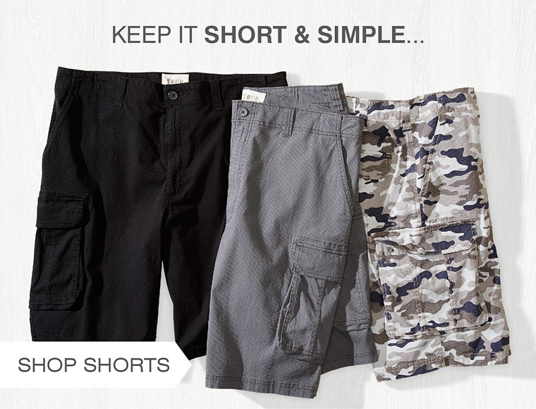 KEEP IT SHORT AND SIMPLE
