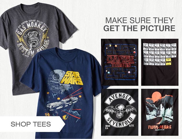GRAPHIC TEES | MAKE SURE THEY GET THE PICTURE