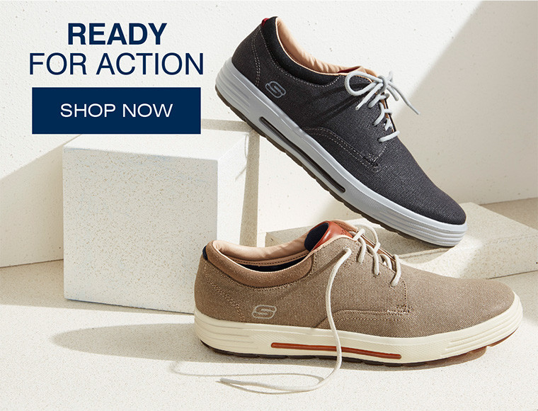 CASUAL SHOES | READY FOR ACTION
