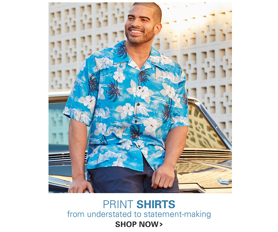 PRINT SHIRTS | FROM UNDERSTATED TO STATEMENT-MAKING