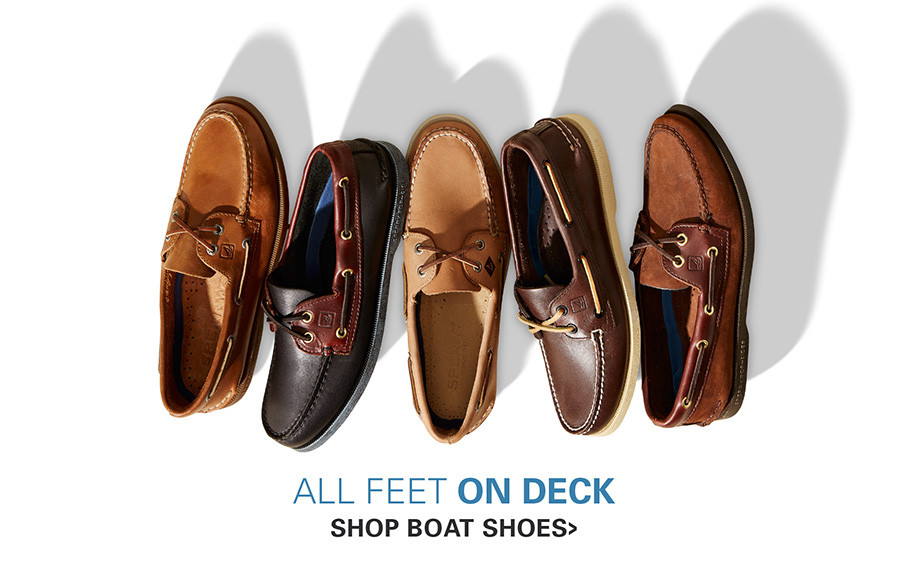 ALL FEET ON DECK | BOAT SHOES