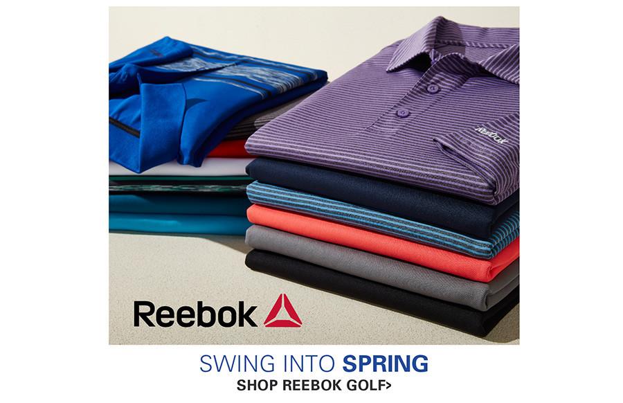 SWING INTO SPRING | REEBOK GOLF