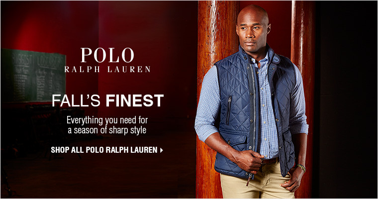 FALL'S FINEST | Everything you need for a season of sharp style | SHOP ALL POLO RALPH LAUREN