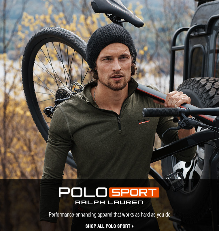 POLO SPORT | RALPH LAUREN | Performance-enhancing apparel that works as hard as you do | SHOP ALL POLO SPORT