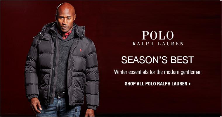 SEASON'S BEST | Winter essentials for the modern gentleman | SHOP ALL POLO RALPH LAUREN
