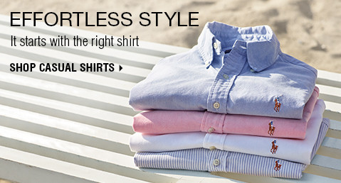 EFFORTLESS STYLE | It starts with the right shirt | SHOP CASUAL SHIRTS