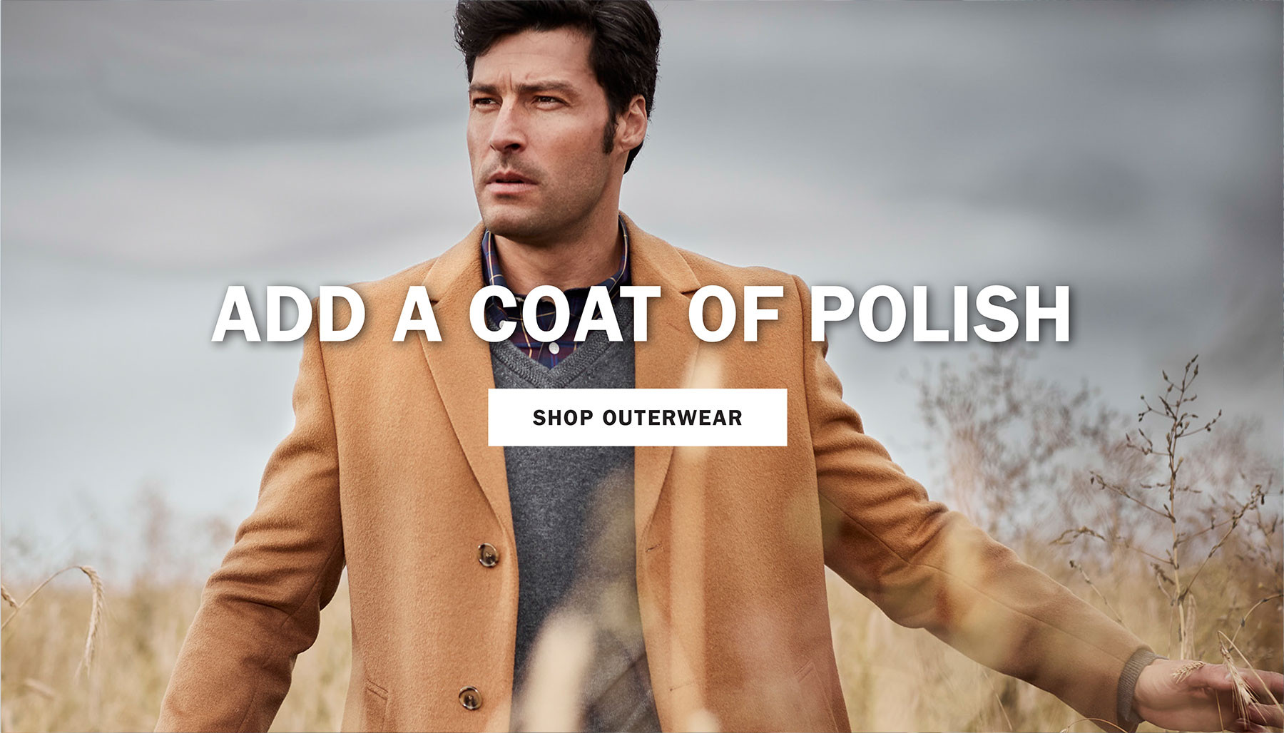 ADD A COAT OF POLISH | SHOP OUTERWEAR