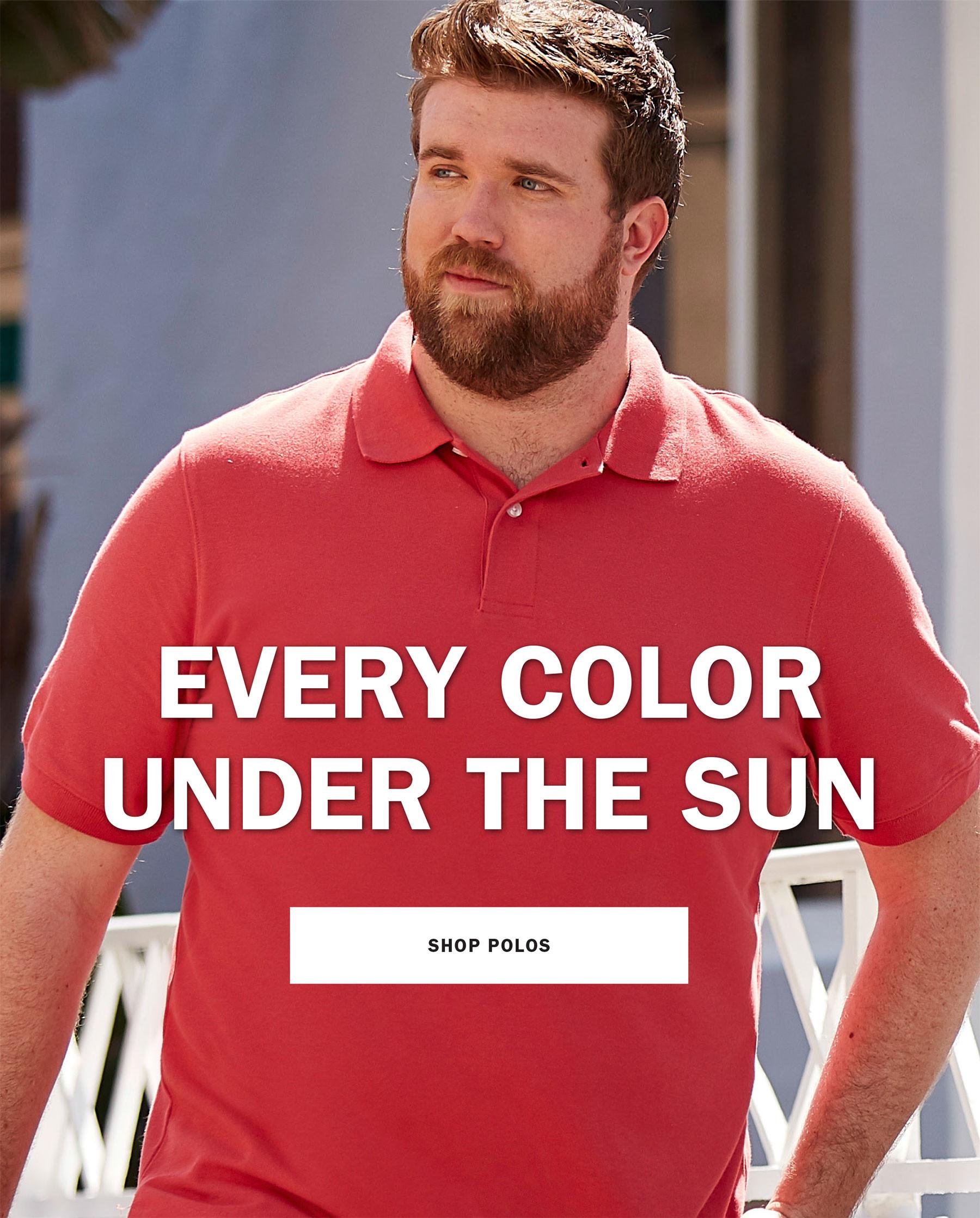 EVERY COLOR UNDER THE SUN | SHOP POLOS
