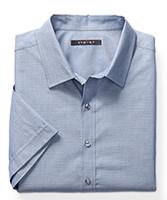 Synrgy™ Diamond Geometric-Print Sport Shirt