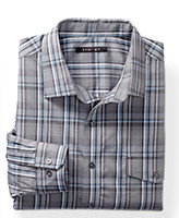 Synrgy™ Multi Plaid Sport Shirt