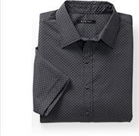 Synrgy™ Geometric-Print Sport Shirt
