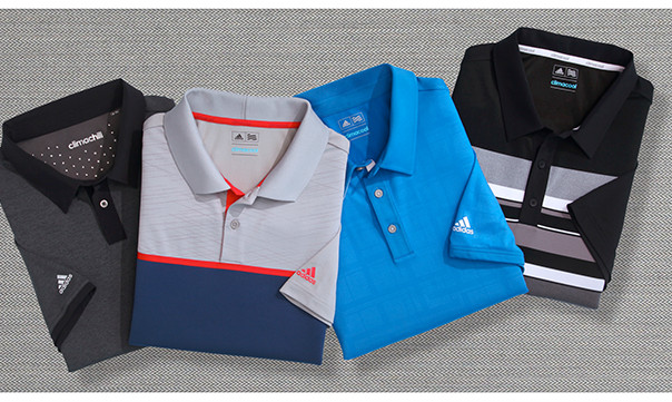 STAY THE COURSE | PLAY IT COOL IN POLISHED STYLES WITH MOISTURE-WICKING TECHNOLOGY | SHOP GOLF