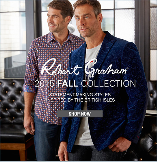 Robert Graham | 2015 FALL COLLECTION | STATEMENT-MAKING STYLES INSPIRED BY THE BRITISH ISLES | SHOP NOW