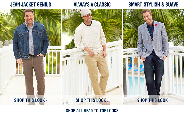John Banks Big and Tall Menswear offers a wide range of high quality big and tall menswear products and has done so for the past 60 years. We also provide free delivery on all orders over £