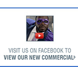 VISIT US ON FACEBOOK TO VIEW OUR NEW COMMERCIAL