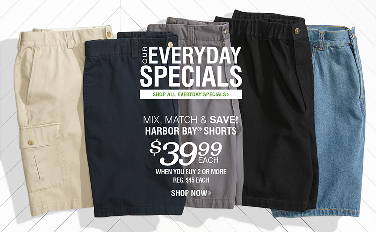 OUR EVERYDAY SPECIALS