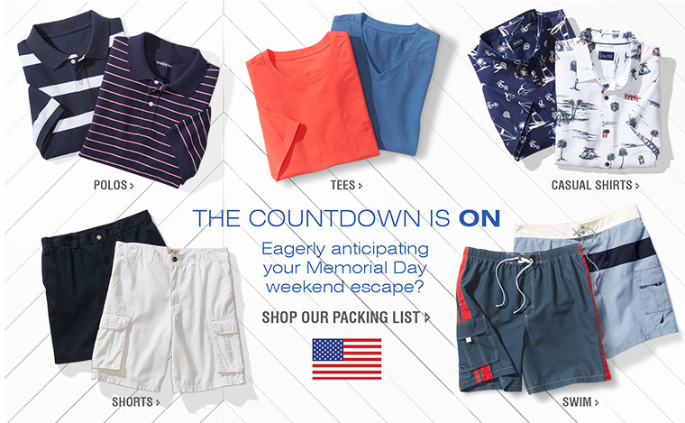THE COUNTDOWN IS ON | Eagerly anticipating your Memorial Day weekend escape?