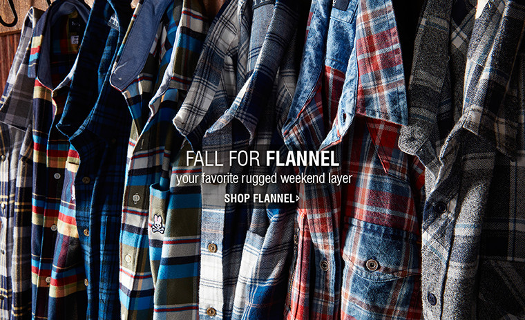 FALL FOR FLANNEL | your favorite rugged weekend layer | SHOP FLANNEL