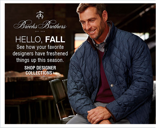 HELLO, FALL | See how your favorite designers have freshened things up this season. | SHOP DESIGNER COLLECTIONS