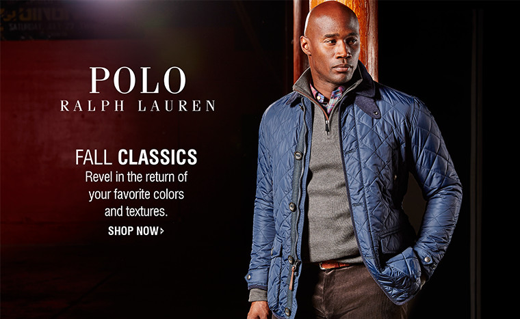 Polo Ralph Lauren | FALL CLASSICS | Revel in the return of your favorite colors and textures. | SHOP NOW