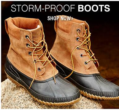 STORM-PROOF BOOTS | SHOP NOW