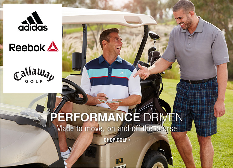 PERFORMANCE DRIVEN | Made to move, on and off the course