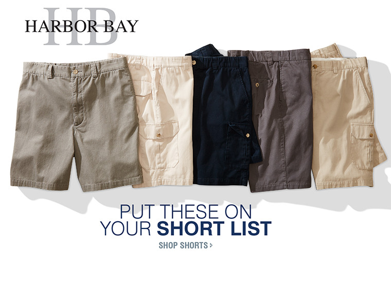 PUT THESE ON YOUR SHORT LIST | SHOP SHORTS