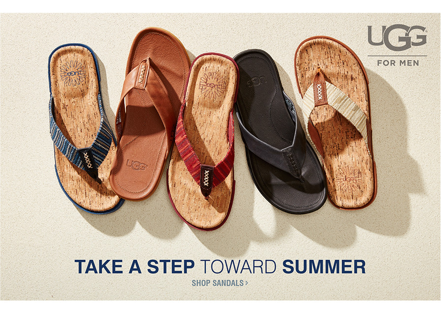 TAKE A STEP TOWARD SUMMER | SHOP SANDALS