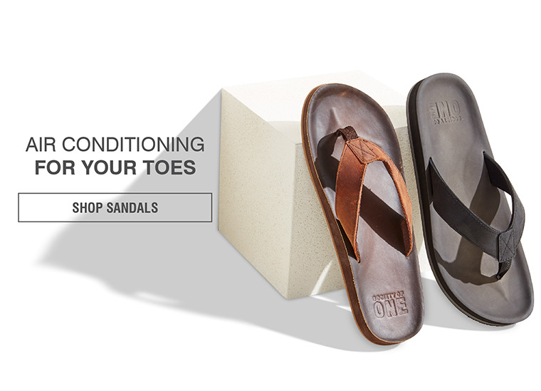 AIR CONDITIONING FOR YOUR TOES | SHOP SANDALS