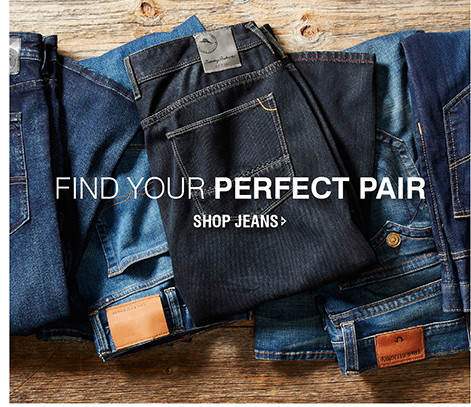 FIND YOUR PERFECT PAIR | SHOP JEANS