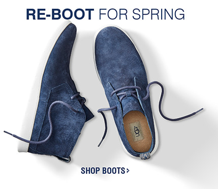 RE-BOOT FOR SPRING | SHOP BOOTS