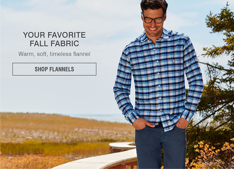 YOUR FAVORITE FALL FABRIC | Warm, soft, timeless flannel | SHOP FLANNELS