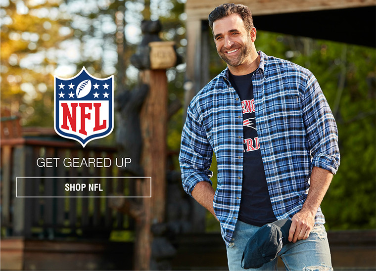 NFL | GET GEARED UP | SHOP NFL