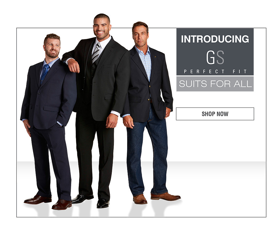 INTRODUCING GS PERFECT FIT | SUITS FOR ALL | SHOP NOW