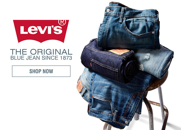 THE ORIGINAL BLUE JEAN SINCE 1873 | SHOP LEVI'S
