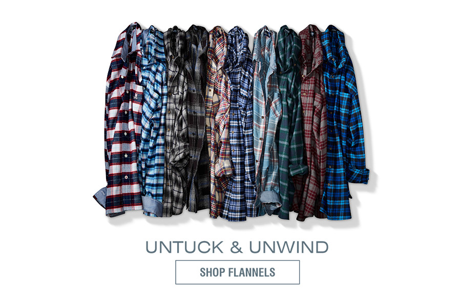 UNTUCK & UNWIND | SHOP FLANNELS
