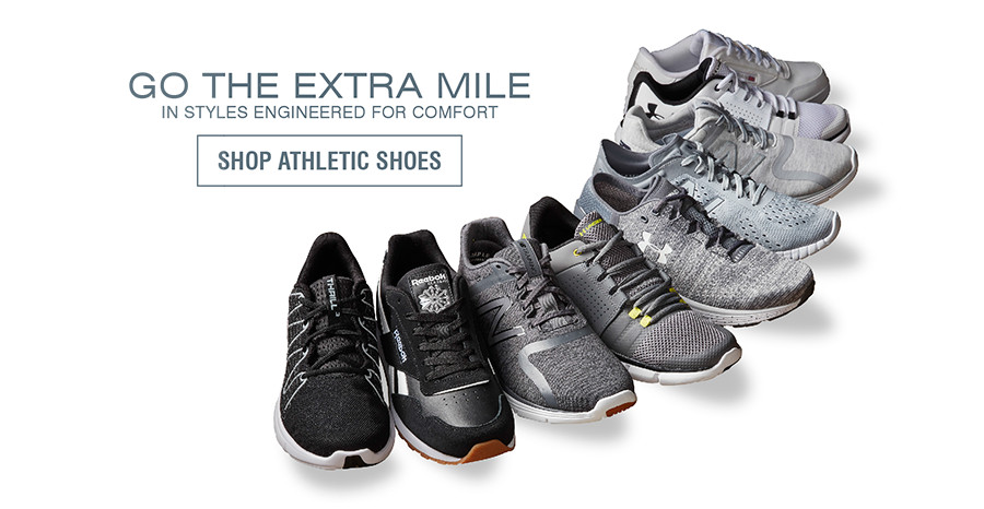 GO THE EXTRA MILE IN STYLES ENGINEERED FOR COMFORT | SHOP ATHLETIC SHOES